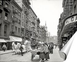 Постер США в начале XX века