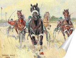 Постер Рысистые гонки в Крио