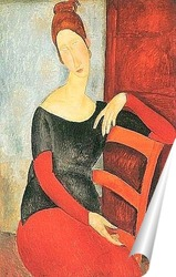 Постер Жена художника