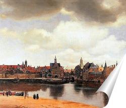 Постер Вид города Делфта