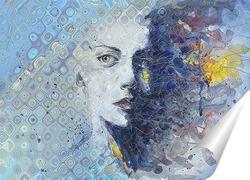 Постер Портрет девушки