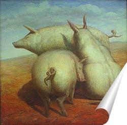 Постер Три грации