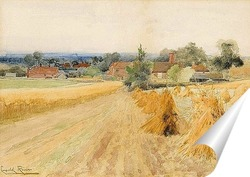 Постер Урожай пейзаж