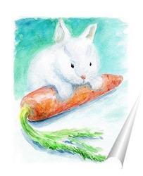 Постер Любитель морковки