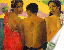 Постер Три Таитянки