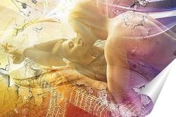 Постер Страстный поцелуй