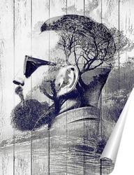 Постер Артпортрет