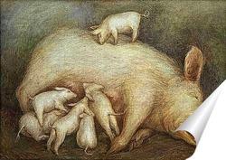 Постер Свиноматка