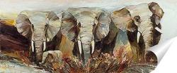Постер Три с половиной слона