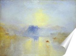 Постер Замок Норем, восход