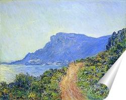 Постер Горная дорога Монако