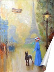 Постер Защитник. Парижские зарисовки.