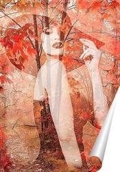 Постер Элегантная осень