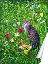 Постер Мой кот Поль