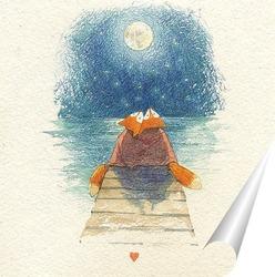 Постер Foxes_Moon.jpg