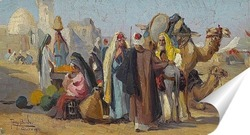 Постер Арабский рынок