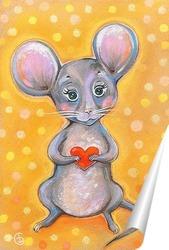 Постер Мышка