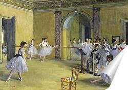 Постер Танцы в опере на улице Пелетье, 1872