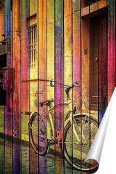 Постер Ретро велосипед