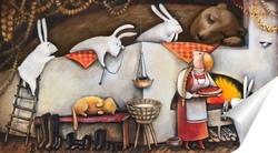 Заяц с баранкой