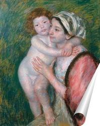 Постер Мать и дитя, 1914