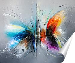 Постер Свидание бабочек