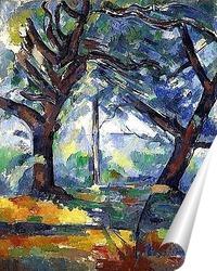 Постер Большие деревья, 1904