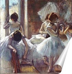 Постер Танцоры, 1884 - 1885