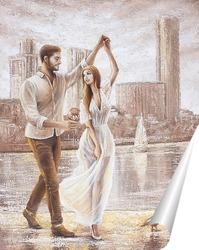 Постер Танец на набережной. Екатеринбург