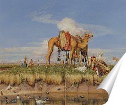 Постер На берегу Нила, верхний Египет