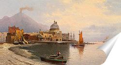 Постер Картина художника 19-20 веков, пейзаж