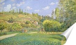 Постер Пастух в Валхермейл, Овер-сюр-Уаз
