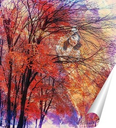 Постер Госпожа осень