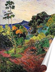 Постер Тропические заросли. 1887
