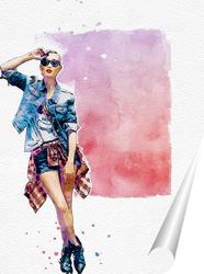Постер Постер цветной