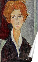 Постер Портрет женщины, 1917-18