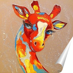 Постер Жираф