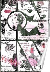 Постер Fashion comic