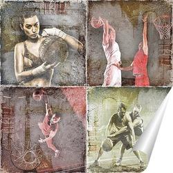 Баскетбольные игроки