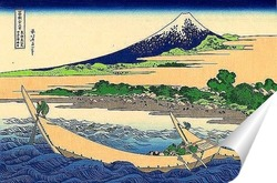 Постер . Берег Тагоноура  в Эдзири , тракт Токайдо
