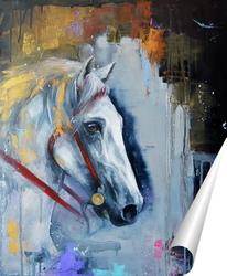 Постер лошадь
