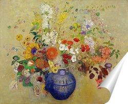 Постер Цветы, 1909