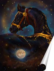 Постер арабское золото