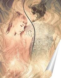 Постер Влюбленная пара