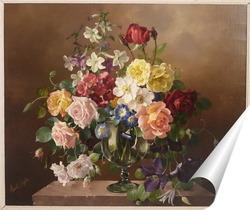 Постер Красота цветочного букета