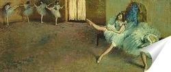 Постер Перед выступлением балета