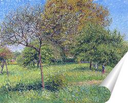 Постер Великое ореховое дерево.Утро, Эраньи