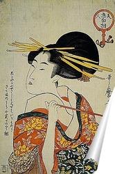 Постер Utamaro003