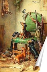 Постер  После охоты