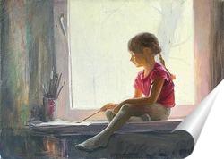 Постер Юная художница